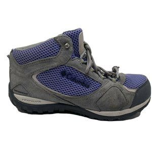 Columbia Hiking Boots Womens Size 6 Techlite Water